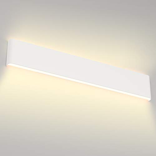 Aipsun 30W/32.6 inch Modern LED Vanity Light for Bathroom Light Fixture Up and Down Wall Light(Warm White 3000K)