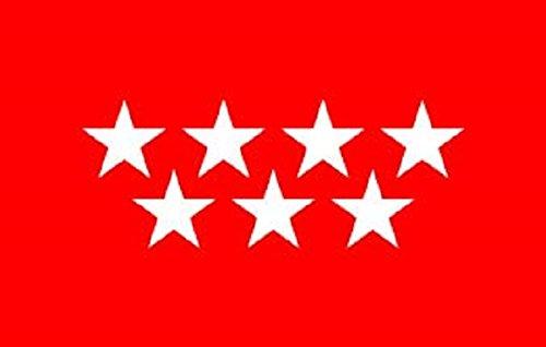 Durabol Gran Bandera Comunidad de Madrid 150 x 90 cm Satén