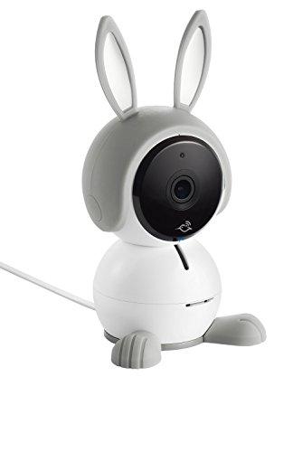 Arlo Baby Monitor | Smart WIFI Baby Camera 1080P HD with 2-Way Audio, Night Vision, Air Sensors, Lullaby Player, Night Light, Works with Amazon Alexa, HomeKit (ABC1000)