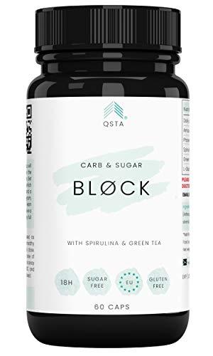 Keto Plus Actives BLOCK (60 CAPS) - Bloqueador de Carbohidra