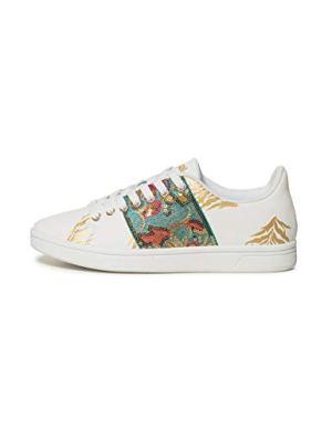 Desigual Shoes (Cosmic_Exotic Tropical), Scarpe da Ginnastica Basse Donna