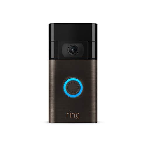 All-new Ring Video Doorbell – 1080p HD video, improved motion detection, easy installation – Venetian Bronze (2nd Gen)