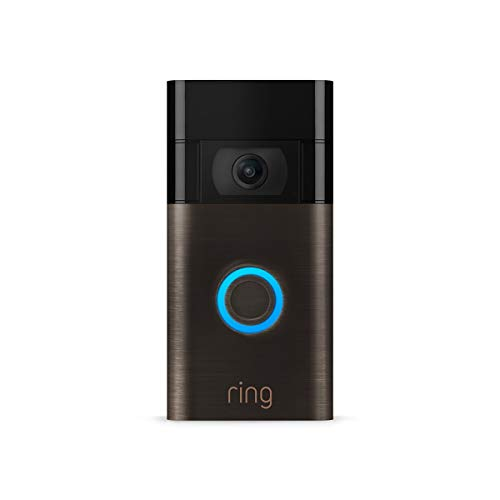 All-new Ring Video Doorbell – 1080p HD video, improved motion detection, easy installation – Venetian Bronze...