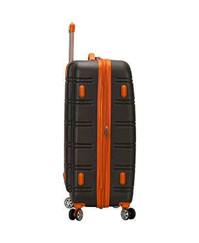 Product Image 7: Rockland Melbourne Hardside Expandable Spinner Wheel Luggage, Charcoal, 2-Piece Set (20/28)