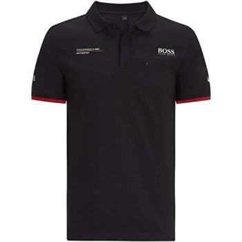 Porsche Motorsport Men's Team Black Polo w/Motorsport Kit (2XL)