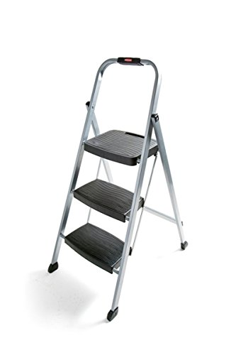 2. Rubbermaid Steel Frame Stool