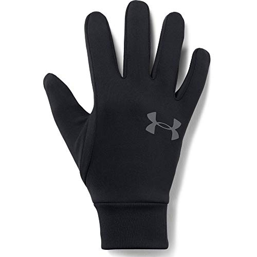 Under Armour Men's Armour Liner 2.0 Gloves , Black (001)/Graphite , Small