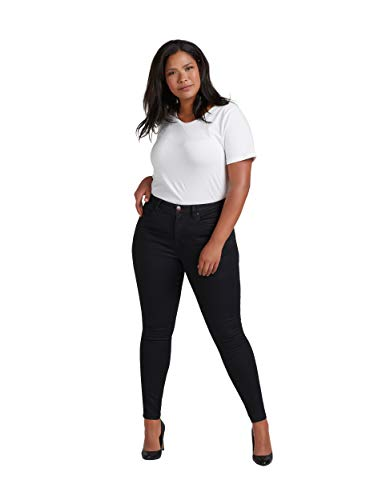 Zizzi Amy Damen Jeans Super Slim Jeanshose Stretch Hose Große...