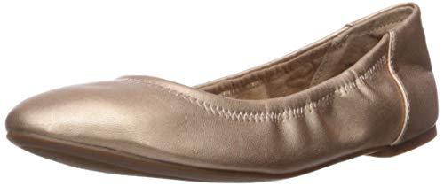 Amazon Essentials Belice Ballet Flat Zapatos Bailarinas, Oro Rosa Magenta, 38.5 EU