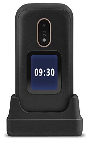 Doro 6060 Teléfono Móvil 2G Dual SIM para Mayores con Tapa