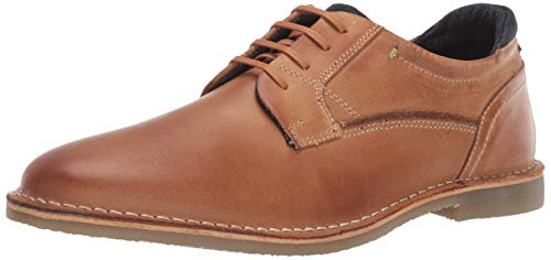 Steve Madden Men's GORREN Oxford, Tan Leather, 12 M US