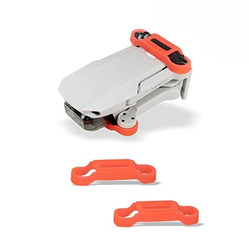 iMusk Mavic Mini 2 Stabilizzatore del Supporto dell'elica Protezione del Cappuccio Protettivo del Motore dell'elica in Silicone per DJI Mavic Mini e Mavic Mini 2 Accessori per droni (1 Paio)