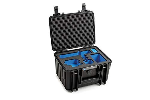 B&W Outdoor Case Custodia rigida tipo 2000 Inlay per: GoPro Hero 9 accessori e Action Camera GoPro Hero 9 nero, Hero 9 (custodia impermeabile IP67, dimensioni interne 25 x 17,5 x 15,5 cm, nero)