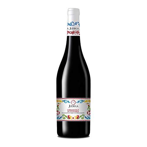 Vino Rosso Cerasuolo di Vittoria DOCG 2014 secco (1 x 0.75 l) da Cantina Judeka Sicilia