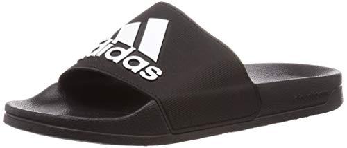 Adidas Adilette Shower - Zapatos de Playa y Piscina para Hombre, Negro, 43 EU