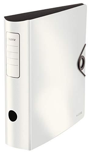 Leitz 10471001 Qualitäts-Ordner, Weiß, 82mm