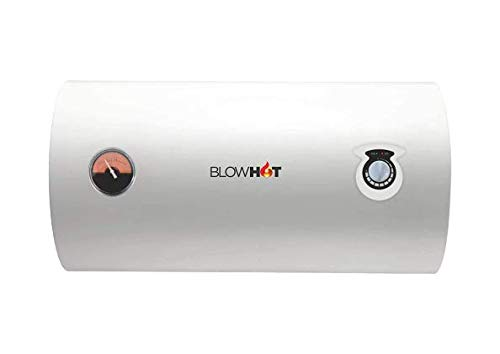 BLOWHOT Electric 15 Litre Storage Water Heater Geyser Vapour Plus H-SERIES | Auto CUT-OFF (Steel...