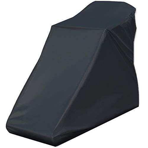 Haudang - Copertura impermeabile per tapis roulant, non pieghevole, adatta per interni ed esterni, colore: Nero