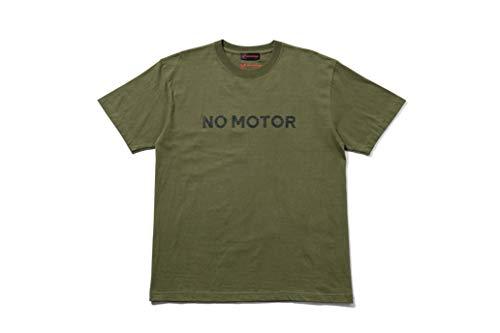 Honda(ホンダ) Honda×YOSHIDA ROBERTO ノーモーターTシャツ A(カーキ) Mサイズ 0SYEA-25F-AM