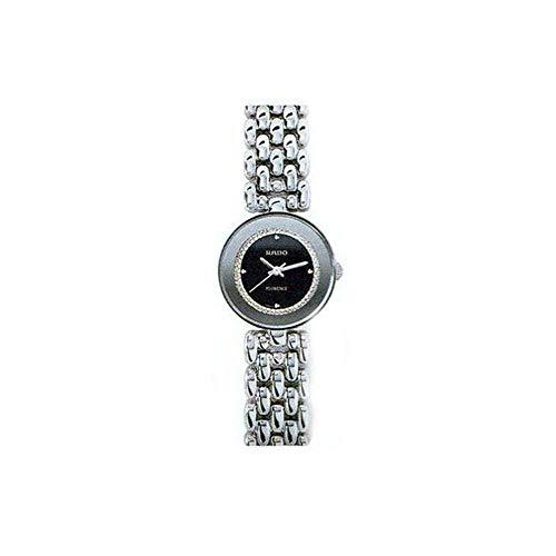Rado r48744163–Armbanduhr Damen, Armband aus Edelstahl Farbe Silber