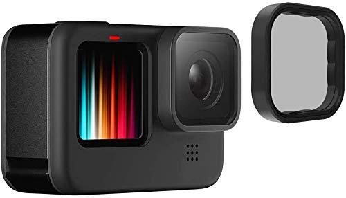 TELESIN Filtro Polarizzatore per GoPro Hero 9 Nero, CPL Circolare Polarizzatore Filtro Lens Protector per Go Pro 9 Accessori