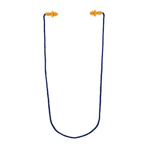 3M Gehörschutzstöpsel mit Kordel (98 dB, für einen Optimalen Gehörschutz bei der Arbeit und in der Freizeit) 1271C1