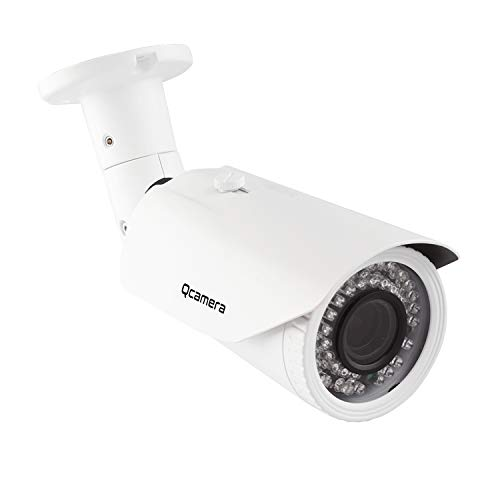 Q-camera Bullet Telecamera di Sicurezza 5MP 4 In 1 TVI/CVI/AHD/CVBS 1/2,5' Sensore 2.8-12mm Lente Varifocal Impermeabile 130FT 42Leds IR Visione Notturna Sistema Di Sorveglianza Telecamera Per Esterni