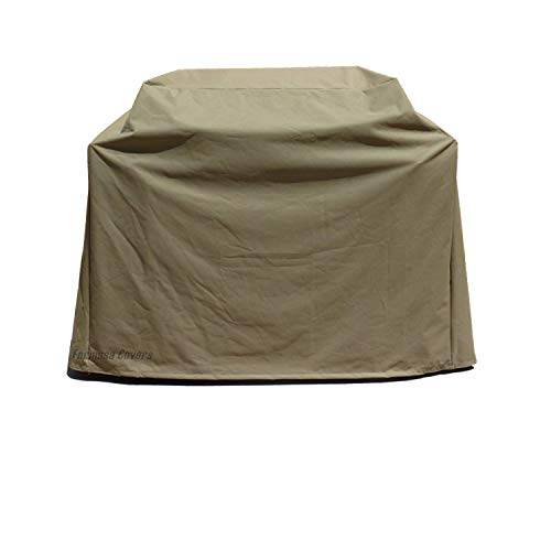 Formosa Covers Premium Tight Weave BBQ Grill Cover fits up to 36' L in Gas Grill on Cart