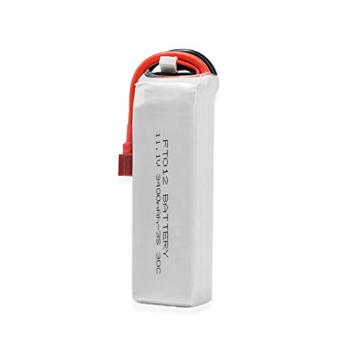 Binory Upgrade Boat 11.1V 3400mAH 3S Battery Part for Feilun FT012 Huanqi 734 RC Boat