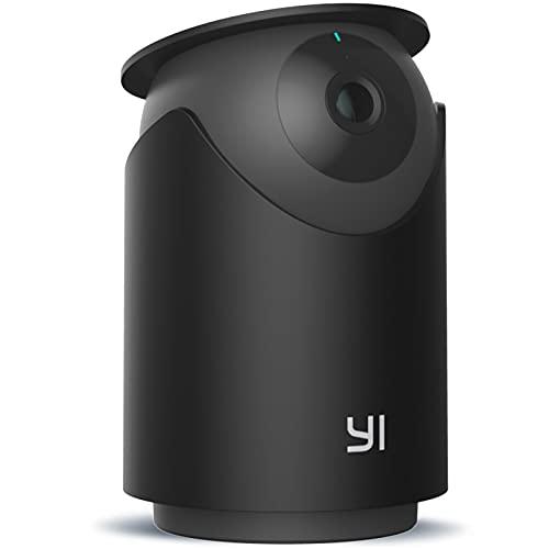 Videocamera Sorveglianza Interno WIFI 2K 3MP,YI Dome U Pro Telecamera di Sicurezza Pan-Tilt Intelligenza Artificiale,Rilevamento Facciale/Umano/Sonoro/Movimento,Visione Notturna,Audio Bidirezionale