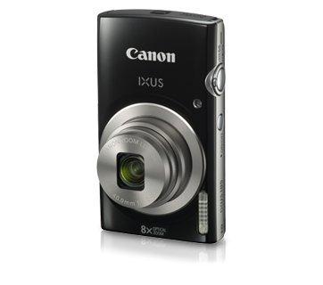 Canon IXUS 185 20MP Digital Camera with 8x Optical Zoom (Black) + Memory Card + Camera Case