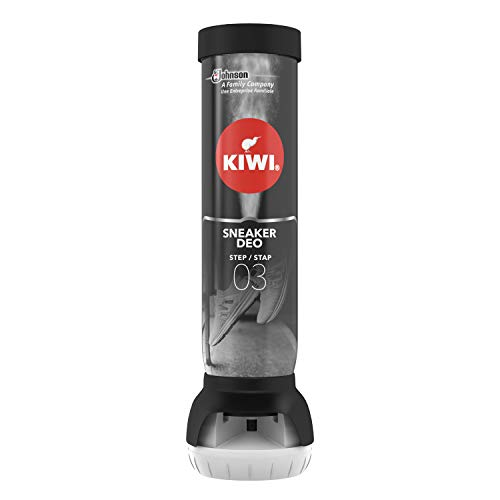 Kiwi Shoe Deodorizer Spray, Sneaker Odour Eliminator for Feet & Shoes, Step 3, Fresh Scent, 100 ml