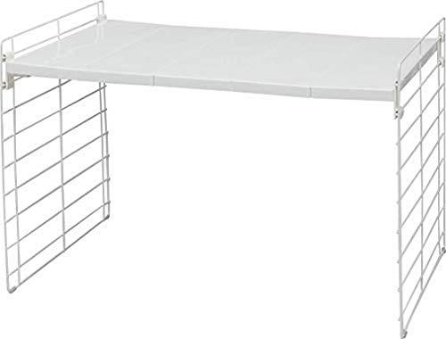 Iris Ohyama Telescopic And Slide Tray Rack Scaffale modulare ed allungabile 42-70 cm per Armadio da Cucina sotto Il lavandino, Metal, 1 ripiano