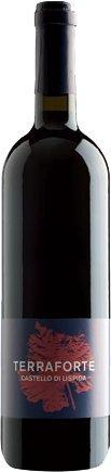 Terraforte - Vino rosso - Blend Merlot e Sangiovese - Castello di Lispida - Colli Euganei - 0.75l - agricoltura naturale - Triple A - Cartone 6 bottiglie
