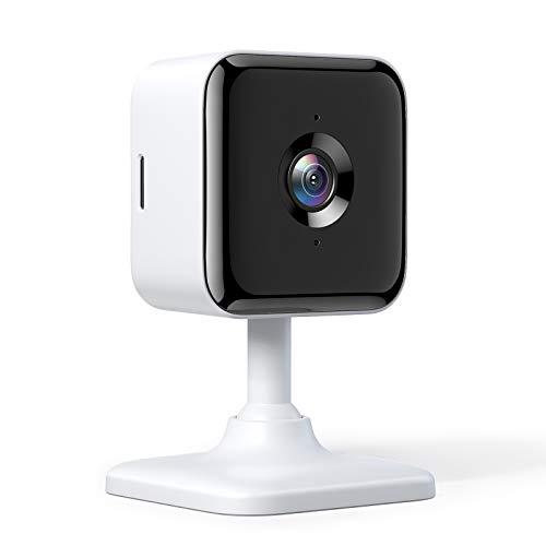 Cámara Wi-Fi para interiores Teckin, cámara de vigilancia 1080P, visión nocturna, audio bidireccional, sonido, detección de movimiento, múltiples ángulos.  utilizable con Alexa y Google Home