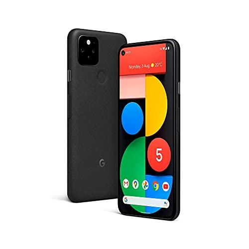 Google Pixel 5 5G (2020) GTT9Q 128GB Factory Unlocked SIMFree Smartphone (Just Black) -...