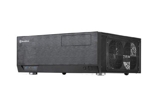 SilverStone SST-GD09B - Grandia HTPC ATX Computer Case, Silent High Airflow Performance, black