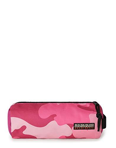 Napapijri Han Pc Re Print - Astuccio portapenne 22 cm, Pink Camo Fv5. (Multicolore) - NP0A4EA4
