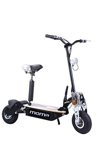Moma Bikes Patinete elctrico plegable urbano 2100W 10 42km/h Autonoma...
