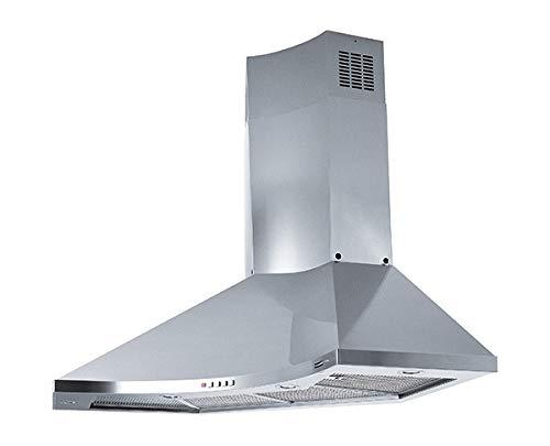 Franke - Cappa ad angolo FDPA 904 XS LED finitura inox satinato da 90x90cm