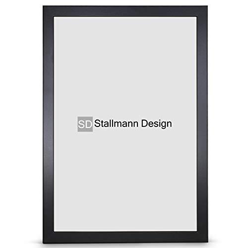 Stallmann Design, cornice New Modern, 10 x 15 cm, colore bianco, din A4 e 60 altri formati, in legno...