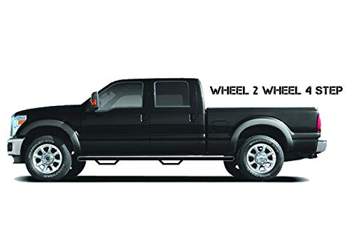 n-FAB T9673XC-TX Nerf Step | Wheel 2 Wheel | Textured Black Finish | fits 95-04 Toyota Tacoma Extended Cab, 6' Standard Bed