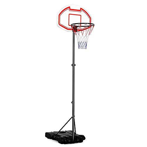 Yaheetech Kids Portable Basketball Hoop System Stand Indoor Outdoor...