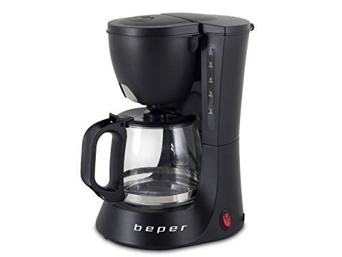 BEPER BC.060 Macchina Caffe Americano 600ml, ABS, Nero