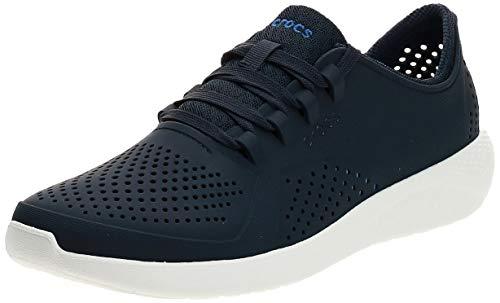 Crocs LiteRide Pacer M, Zapatillas para Hombre, Azul (Navy/White 462b), 42/43 EU
