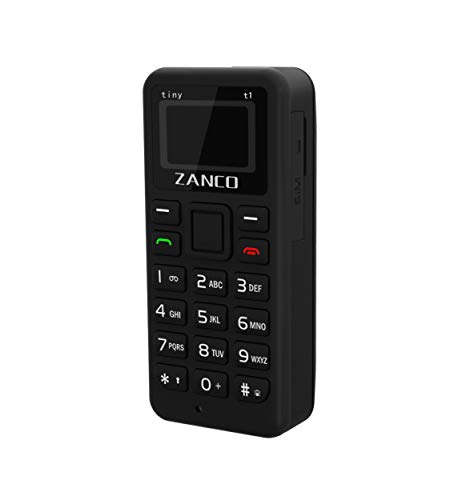 Zanco Tiny T1 World's Smallest Phone,Measuring at a Very Tiny 46.7mmx 21mm (H x W).