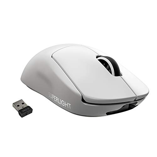 Logicool G PRO X SUPERLIGHT ワイヤレス ゲーミングマウス、ロジクールG史上最軽量62g、LIGHTSPEED無線技...