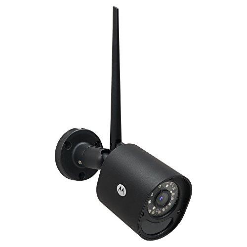 Motorola Outdoor Smart Surveillance Camera, Black (FOCUS72B)