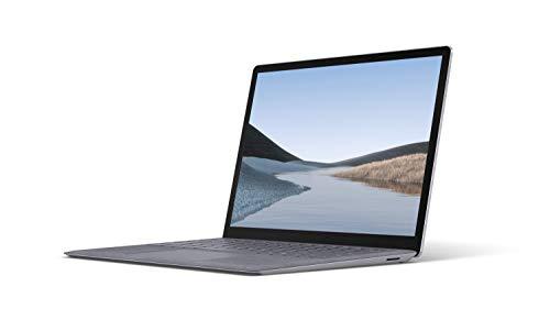 Microsoft Surface Laptop 3, 13' Zoll Laptop (Intel Core i5, 8GB RAM, 128GB SSD, Win 10 Home) Platin