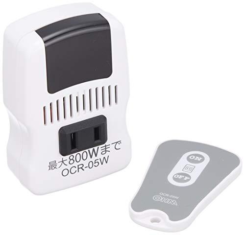 オーム電機 電機器具専用 リモコンコンセント [品番]07-8251 OCR-05W 白